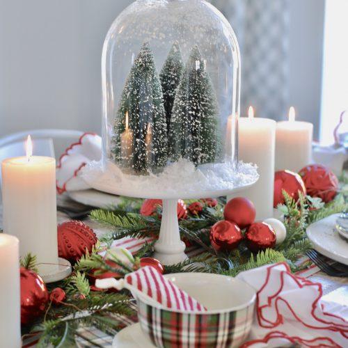 A Simple Seasonal Tablescape